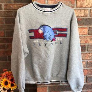 Vintage Disney eeyore sweater